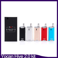 Hive 2.0 Kit 2 in 1 Dab Vape Pen Kit Variable Voltage 650mAh Box Mod Vaporizer Starter Kit 0268094
