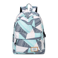 Schoolbag Canva+Oxford fabric Backpack Leisure fashion Striped backpack Outdoor travel bags High-capacity Knapsack Laptop Backpacks A8