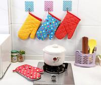 resistente ao calor bakeware luvas luvas engrossar pontos cozinha luvas de forno de cozinha bakeware luvas microondas luvas ferramentas de cozinha bakeware