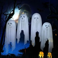 4Pcs 1Set Halloween Balloons Scary Ghost Skeletons Hanging d...