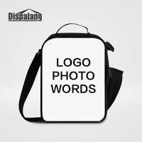 Damen-Lunchpaket Kleine Lunchpakete Drucken Sie Ihr eigenes Logo-Foto-Lunchpaket Für Schulkinder Individuelle Gestaltung Kühltaschen Für Schüler Lancheira