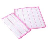 20 teile / los 28 * 28 cm 5 layeres Waschen Tücher Geschirrtücher Lumpen Handtuch Bambusfaser Hause Auto Reinigung Küche Schüssel