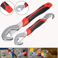 Anmashom25 Store All'ingrosso Brand New 2pcs / Lot Snap'N Grip Set Chiave regolabile 9-32mm Multi-funzione Universal Spanner Tools