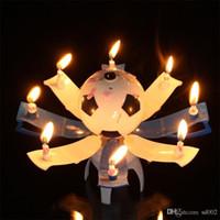 Neuheit Trophäe Form Kerzen Wachs Geburtstag Party Decor Kerze Musik Farbe Automatische Blühende Kinder Favor Heißer Verkauf 6zy ii