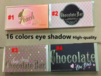 Faced Makeup Sweet peach Eye Shadow Makeup Chocolate Semi- sw...