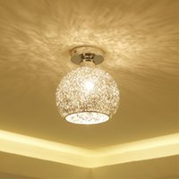 Modern Chandeliers Creative Aluminum Ceiling Light Crystal C...