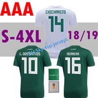 GRAN TAMAÑO xxl-4xl México jersey 2018 Copa del Mundo verde   10 G. b51012e4d457e