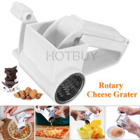 Rotary Cheese Grater Chocolate Nuts Shredder Sharp Stainless...