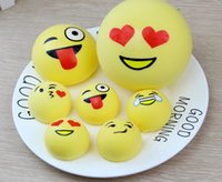 Emoji Squishy Squeeze Stretchy Bread 4 7 10cm Slow Rising Ph...