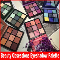 Beauty Makeup Obsessions Eye Shadow Palette 9 color pallets ...
