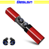 Bestsin Wireless Waterproof Bluetooth Headset S2 Mini TWS Ma...