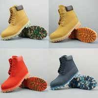 Pas cher Designer TBL bottes Hommes Femmes Bottes D'hiver jaune noir Baskets Hommes Femmes Casual en plein air formateurs chaussures De luxe botte Drop Shpping