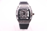 BOYUHENG 052 man high quality watch black skull dial man...