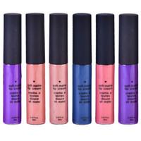 New 16g marca de moda suave Matte Lip Creme Lip Gloss 12 cores vermelho de veludo impermeável líquido Batom Lip Gloss Matte Lips Makeup