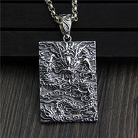 hip hop jewelry vintage 925 sterling silver pendant fashion ...
