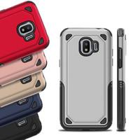 Hybrid Robust Impact PC Soft TPU ShockoProof Väska till iPhone X 8 7 6 5 SE Samung Galaxy S7 Edge S8 S9 Plus notera Note8 A6 A8 J4 J6 J2 Pro 2018
