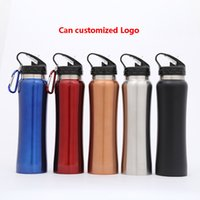 18oz Stainless Steel Water Bottle Carabiner Buckle Vacuum Ke...