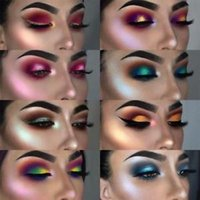24 Color PHOERA Glitter Shimmering Colors Eyeshadow Metallic...