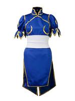 Costume Cosplay di Street Fighter Chun Li