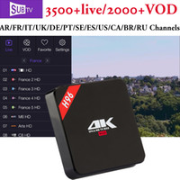 France IPTV Android TV Box H96 RK3229 with 3 6 12 months Sub...