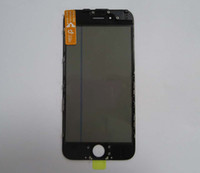 Orijinal Ön Dokunmatik Ekran Paneli Dış Cam Lens + Soğuk Basın Orta Çerçeve Bezel + OCA + Polarize Film iPhone 5 5C 5 s LCD Sreen
