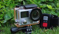 """Mise à niveau de la caméra d'action Eken H3 H3R Caméras de sport vidéo ultra HD 4K avec télécommande 2.4G 2 """"mini caméscope à double écran"""