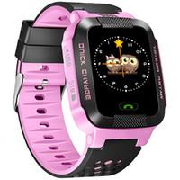y21S telefone relógio relógio de posicionamento do relógio inteligente das crianças do telefone 144 toque cor da tela de presente eletrônico