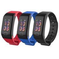 Activity Smart Band Fitness tracker F1 Plus Wrist Bands Blue...