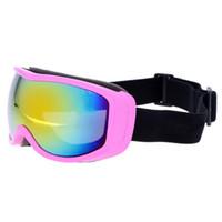 قناع المهنية للجنسين للتزلج نظارات الكبار للأطفال الكبار تزلج قناع نظارات الرجال النساء ركوب الخيل تسلق المشي لمسافات طويلة التزلج على الثلج نظارات