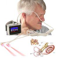 Бесплатная доставка ATANG горячие продажа лазер acquouncture десятки электронных звон в ушах услышать лазерная терапия ухо помощь слух или полости носа для ринита