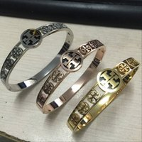 2018 TT stamp Top Quality 316L stainless Steel 3 colors Gold...