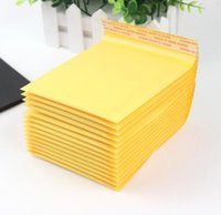 50PCS lot 110*130mm Kraft Paper Bubble Envelopes Bags Mailer...