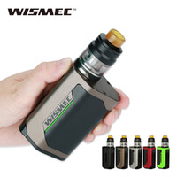Original 300W WISMEC Reuleaux RX GEN3 Kit with 2ml Gnome Tan...