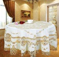 Avrupa Jakarlı Masa Örtüsü Nakış masa örtüsü PVC Klasik Dikdörtgen Masa Örtüleri Için Olaylar Sandalye Dantel Masa Kapakları