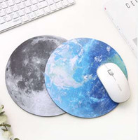 Planet Series Mat 220 x 220 x 3mm Circular Mouse Pad With St...