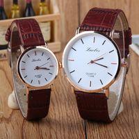 Heißer Verkaufs-Uhr-Frauen der Männer Armbanduhren der Geliebten Art und Weise Uhr-Edelstahl-Quarz