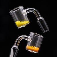 Cuba termocrómica termocrómica de cuarzo de alta calidad Clavo de cubo termocrómico con el color cambiante de la arena de los clavos para las plataformas de aceite de vidrio bong