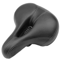 Cycling Road MTB Bike Bicycle Wide Comfort Cushioned Seat Soft Padded Gel Saddle Bicycle Accessories