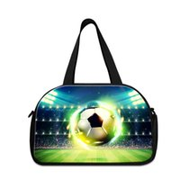 Fashion Soccer Patterns è stampato su Travelling Bag for Men Nice Duffel Bags per Gym Girl's Carry on Luggage Pacchetto casual per ragazzi