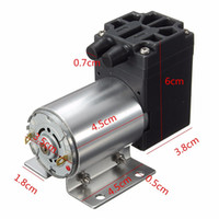 6W DC24V Micro Air Vacuum Pump Vacuum Suction 5L MIN Air Flo...