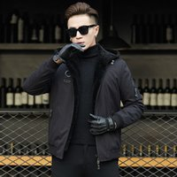 Ptslan 2018 new fashion Male Natural wool coat Good Quality ...
