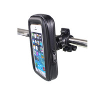 Saco de bicicleta Clip Holder Mount Bracket Mobile Phone bicicleta Suporte para iPhone 6 6plus 7 8 Para Samsung