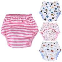 1PC del pañal del bebé de 0 a 24 meses de recién nacidos de algodón suave y transpirable pañal pantalones reutilizables del pañal