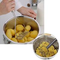 Chegam novas Utensílios De Cozinha Batata Lama Pressão Lama Máquina De Batatas Masher Purê De Batatas Dispositivo Ferramenta de Frutas Vegetais Acessórios