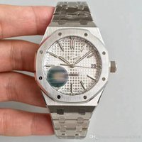 2018 New White DIAL Royal Oak Silver Case Stainless Steel Br...