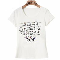 New Harajuku series Stranger Things T-Shirt Woman hipster t-shirt Summer Cool casual girl Tops women Short Sleeve Female Tees