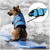 Nuevo Diseño Mascota Perro Guardar Chaleco Salvavidas Ropa de Seguridad Chaleco Salvavidas Salvavidas Natación Ropa de Perro Ropa de Baño