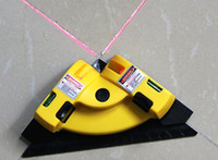 Tile Fixing Right Angle 90 Degree Vertical Horizontal Laser Line Projection Square Levels 2 Line Nivel Laser Level Ground Wire Instrument