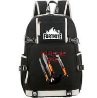 Onde nós mochila Fort nite pacote dia escolar jogo Mochileiro saco dos desenhos animados mochila Qualidade Popular Esporte mochila mochila ao ar livre