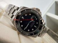 Мода хорошие наручные часы BP Factory Sea-Dweller 126600 43 мм керамическая из нержавеющей стали из нержавеющей стали Азия 2813 Автоматические мужские часы